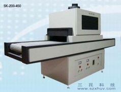 LED灯杯UV胶水用光固化UV机SK-203-450
