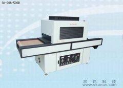 柔硬性、平面、凸起薄膜开关UV油墨固化低温型UV设备SK-206-500D