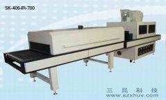 UV光固化机多面固化照射+IR隧道炉SK-406-IR-700