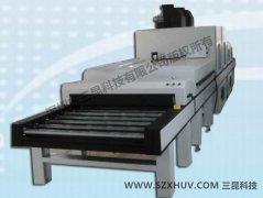 工艺印刷(皱纹、冰花、雪花效果)UV光固化机SK-408-1200