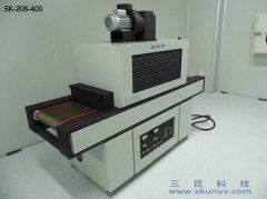 多点触控显示屏PLC水胶固化用UV固化机SK-206-400